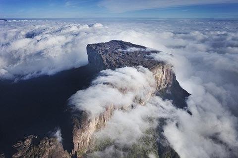 Những 'bàn mây' kỳ ảo ở Nam Mỹ