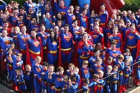 Vui nhộn lễ hội Superman tại Mỹ