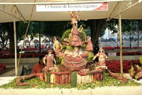 Lễ hội củ cải ở thành phố Oaxaca, Mexico