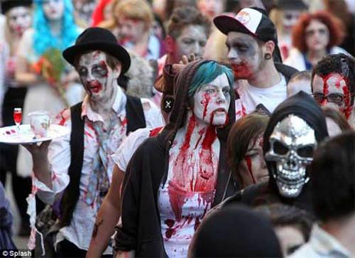 Lễ hội thây ma ở Brighton 2012