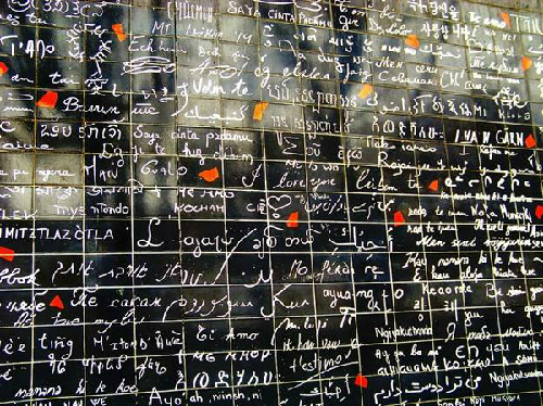 Bức tường 'I love you' ở Paris