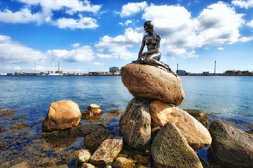 Câu chuyện về nàng tiên cá ở Copenhagen
