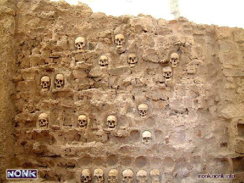 Tòa tháp sọ người ở Serbia