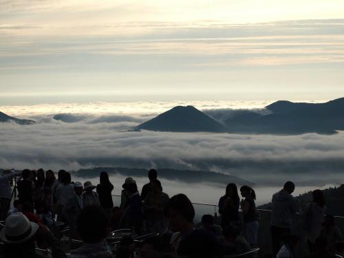 Ban công trên 'biển mây' ở Nhật Bản