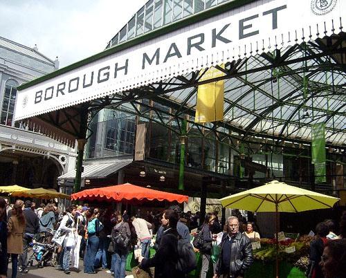 Chợ ẩm thực lâu đời nhất London