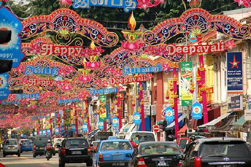 Lễ hội ánh sáng Deepavali ở Singapore