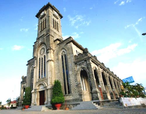 Nhà thờ đá tại Nha Trang
