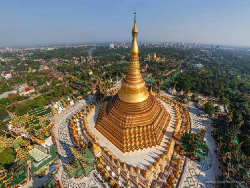 Chùa vàng Shwedagon, điểm dừng chân của phật tử