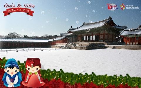Cuộc thi dành cho người mê đất nước Hàn Quốc