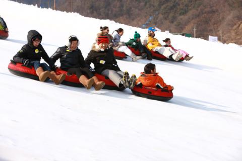 Du lịch kết hợp trượt tuyết ở Hàn Quốc