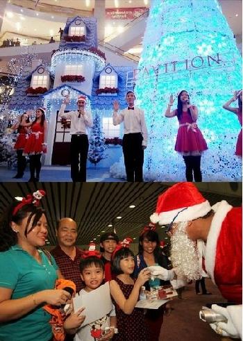 Giáng sinh ấm áp tại Malaysia