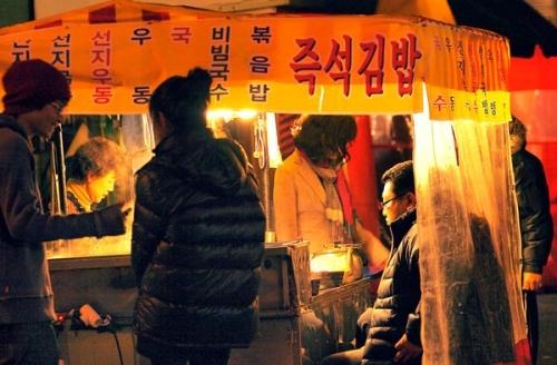Quán lều dành cho dân nhậu ở Hàn Quốc