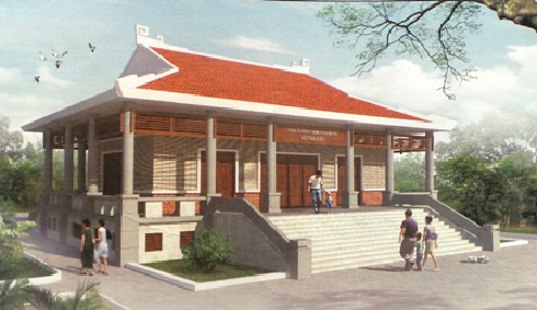 Tôn tạo khu tưởng niệm Võ Thị Sáu ở Côn Đảo