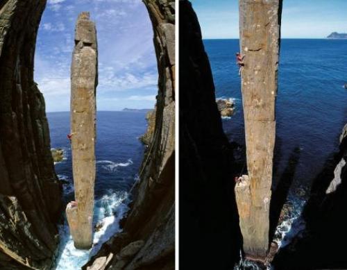 Cột đá Totem Pole, thử thách của các nhà leo núi