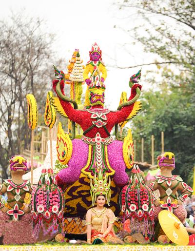 Lễ hội hoa ở Thái Lan
