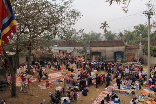 Nét chợ quê ngày Tết