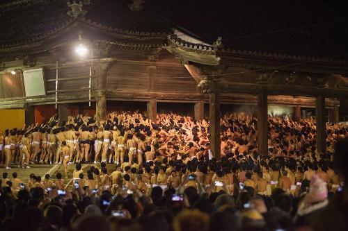 9.000 người tham gia lễ hội khỏa thân tại Nhật