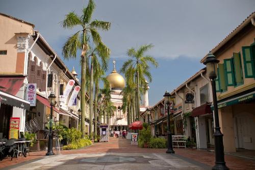 Những sắc màu dân tộc ở Singapore