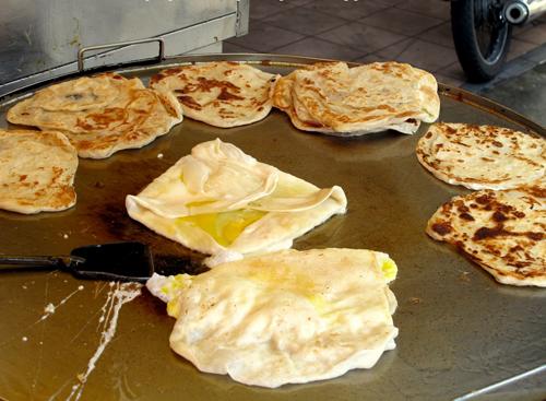 Món Roti Canai độc đáo ở Malaysia