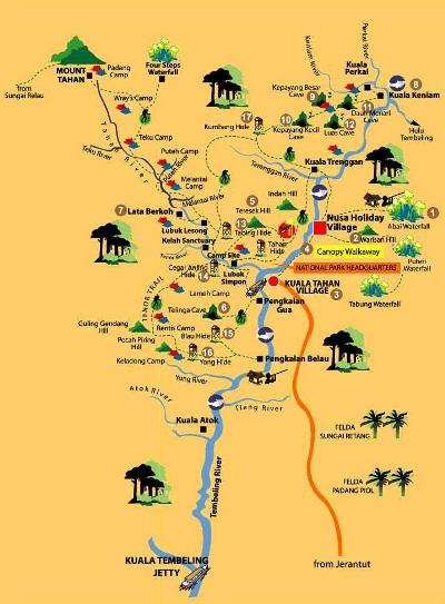 Thám hiểm rừng nguyên sinh Taman Negara