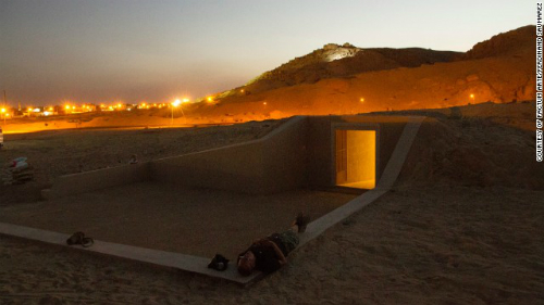 Ai Cập mở cửa bản sao hầm mộ Pharaoh Tutankhamun