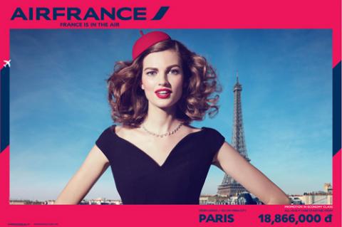 Air France ưu đãi dịp hè