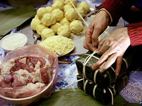Bánh chưng Việt Nam vào top món ăn lễ hội thế giới