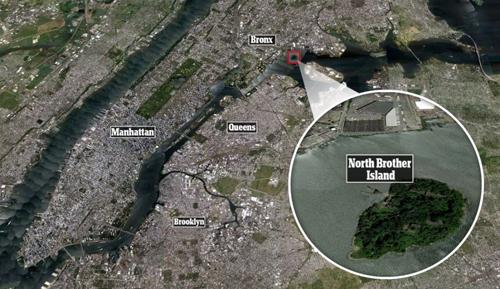 Đảo hoang giữa lòng New York tấp nập