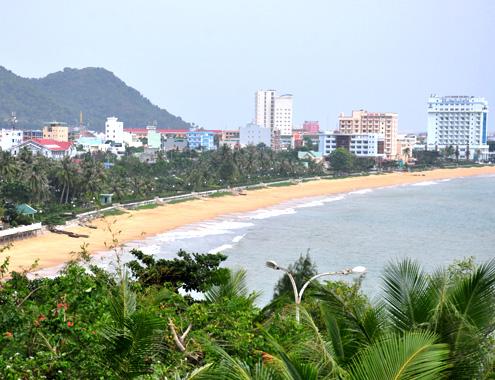 Bình Định tạo 'bãi biển sạch' để hút khách du lịch