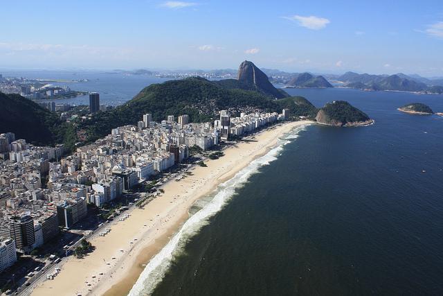 Ngất ngây với vẻ đẹp của Brazil từ trên cao