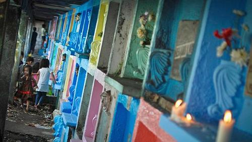 Nơi hai cõi âm dương lẫn lộn ở Manila