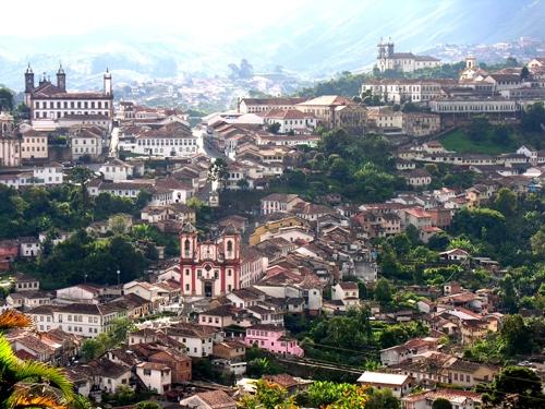 Ouro Preto, thành phố vàng của Brazil