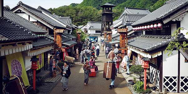 Một ngày ở thị trấn Edo Wonderland cổ xưa của Nhật