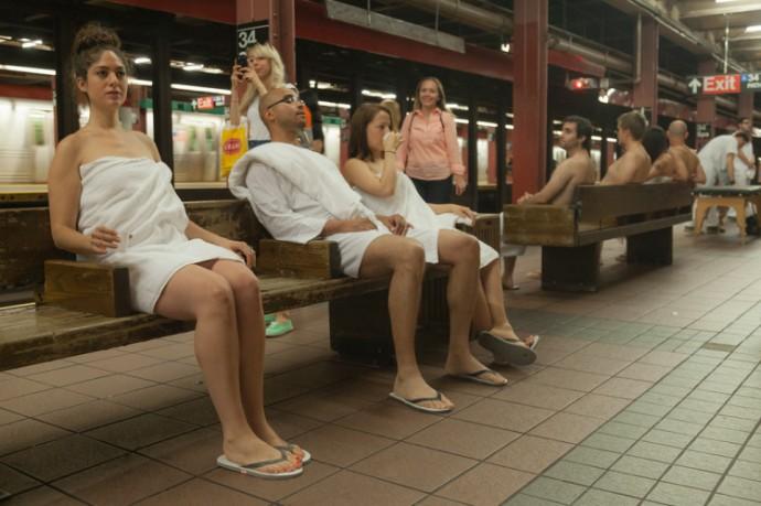 Sốt với dịch vụ spa 'khỏa thân' ở New York