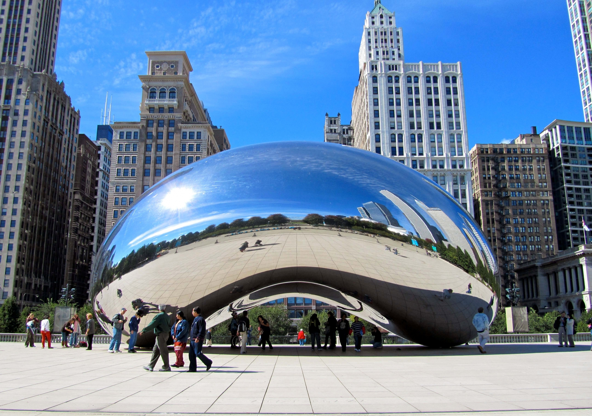 """Thăm """"Hạt đậu"""" khổng lồ ở Chicago"""