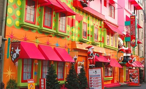 Khách sạn tình nhân, nơi xả stress ở Nhật