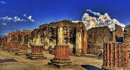 Pompeii, thành phố của những cuộc chia tay rất dài...