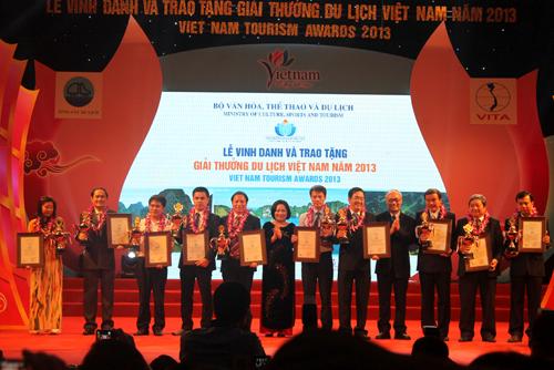 Viet Media Travel nhận giải thưởng du lịch Việt Nam