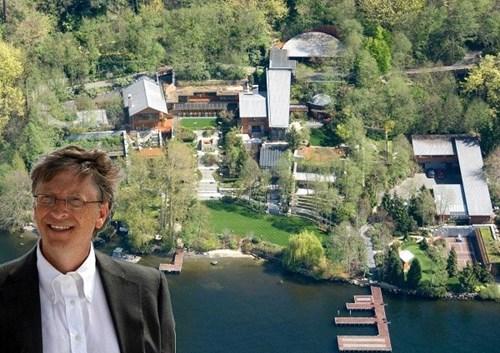 19 sự thật về biệt thự trị giá 123 triệu USD của Bill Gates