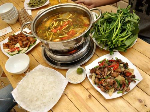 5 món ếch ngon ngày thu lạnh ở Hà Nội
