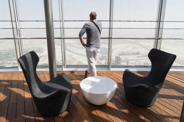 Ngắm Dubai từ tòa tháp Burj Khalifa cao nhất hành tinh