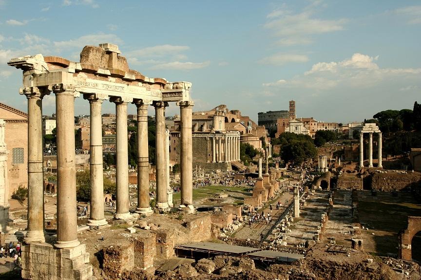 Rome cổ đại trên từng viên đá