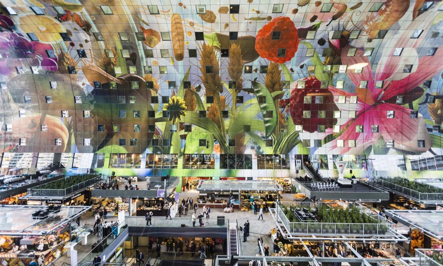 10 khu chợ nổi tiếng châu Âu bạn không nên bỏ qua