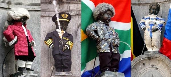 Câu chuyện đằng sau bức tượng 'cậu bé đi tè hạnh phúc' ở Brussel, Bỉ