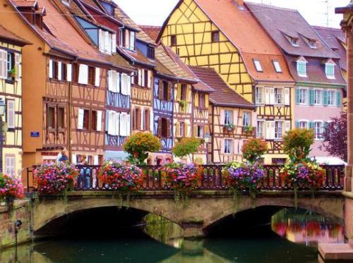 Colmar - ngôi làng không bị oanh tạc vì quá đẹp