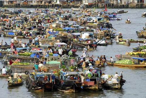 Đồng bằng sông Cửu Long vào top 11 điểm đến năm 2015