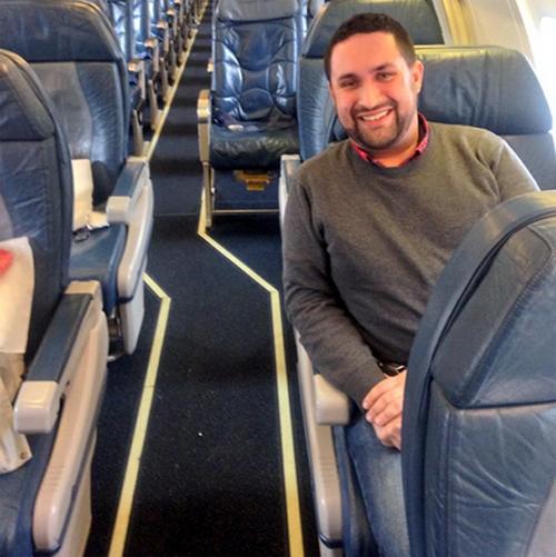 Chuyến bay chỉ chở hai hành khách