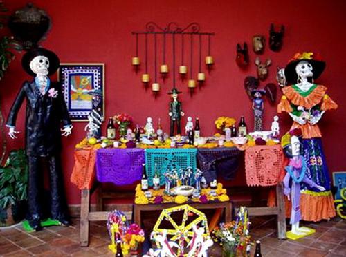 Dia de los Muertos - lễ hội người chết hot hơn cả Halloween