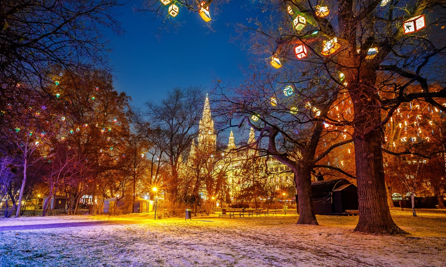 Kỳ nghỉ Đông đáng nhớ tại Vienna, thủ đô nước Áo