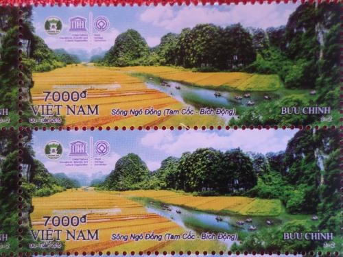 Phát hành bộ tem di sản thế giới Tràng An